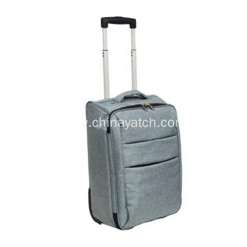 Foldable Cabin Suitcase Wheeled Hand Luggage Holdall Bag