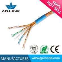 Cat7 cabo de rede ao ar livre com preço de fábrica