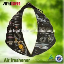 2015 new car scent custom make paper car air freshener wholesale