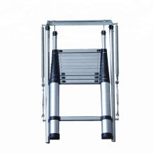 Escalera de aluminio de la aprobación EN131 / SGS / escalera de madera telescópica del desván