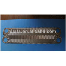 Vicarb 45 related titanium plate for heat exchanger