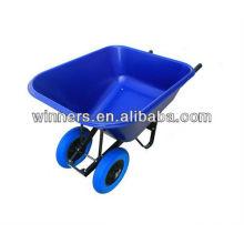 carretilla de ruedas dobles