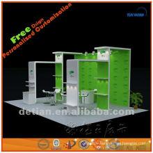 2014 Shanghai exposition équipement fournitures présentoirs verre exposition accessoires stand
