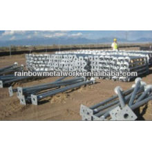 Helical anchor for solar panel foundations