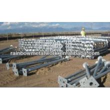 Ancoragem de solo para fundações de painéis solares