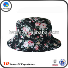 custom floral personalize bucket hat