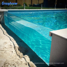 Wholesale clear acrylic plastic glass plastic for above ground swimming pool