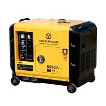 Generadores de poder diesel comerciales silenciosos 9KW para las ventas