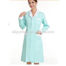 uniforme nuevo de la enfermera del estilo, uniforme hosipital de la manga corta del verano 2015, diseños uniformes de la enfermera de moda