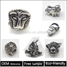 Ever Fade & AAA+ Quality European Style Stainless Steel Beads Animal Beads European Bracelet Beads & Charms BXGZ001
