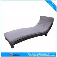 Открытый плетеная мебель пластиковый шезлонг лежак К3