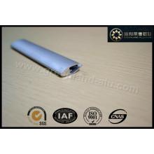 Gl1026 Perfil de Alumínio para Persianas de Rolamento Trilho Inferior Prata Anodizada