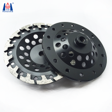 5 inch diamond T shape segment cup grinding wheel for stone factory .