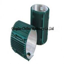 Алюминиевая раковина мотора заливки формы с подвергать механической обработке