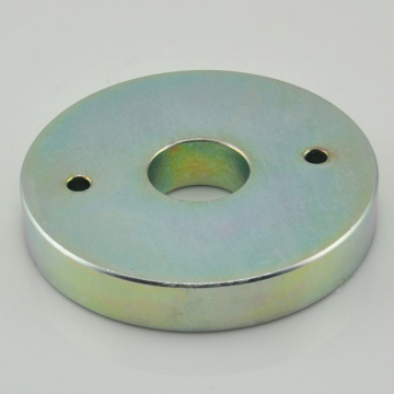 Discount Price Pet Film for Ndfeb Ring Magnet 35H Neodymium large ring magnet with holes export to Saint Vincent and the Grenadines Exporter