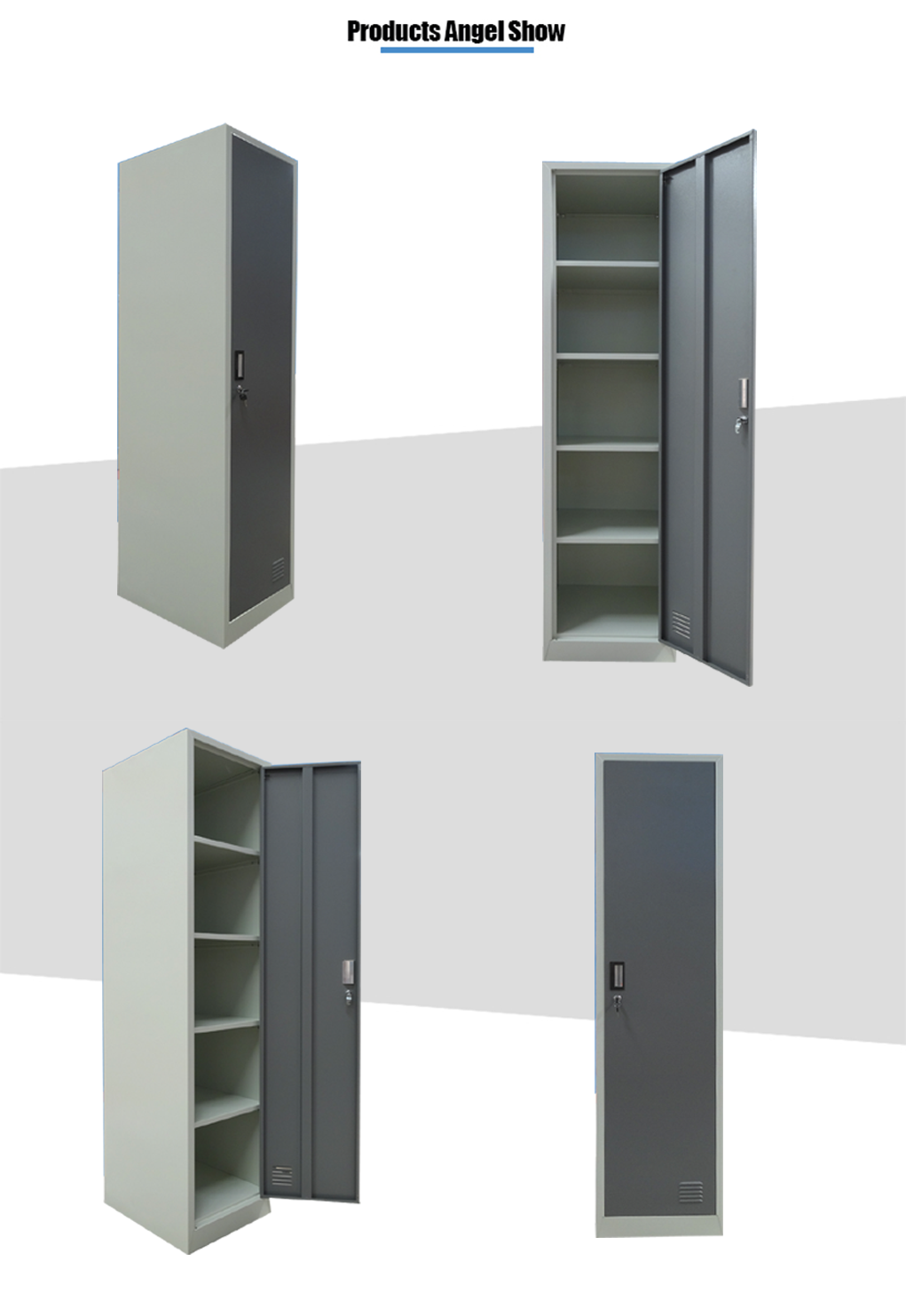 metal luggage cabinet locker