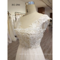 High-end fábrica de porcelana direto atacado vestido de noiva luxo