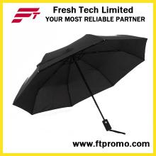 Полноцветной печати Auto открытой складной зонтик для подгонять