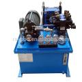 El sistema hidráulico se aplica a la máquina de procesamiento de alimentos