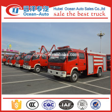 Nuevo mini 5000Liter Dongfeng fuego de camiones