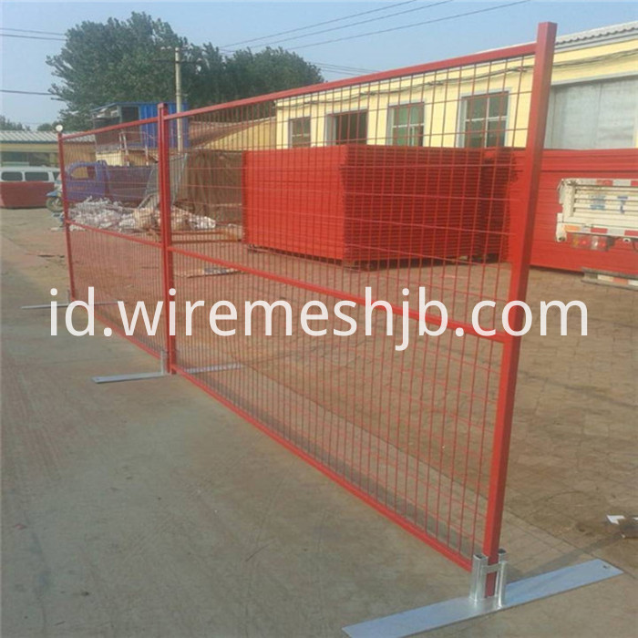 Temporary Fence Material