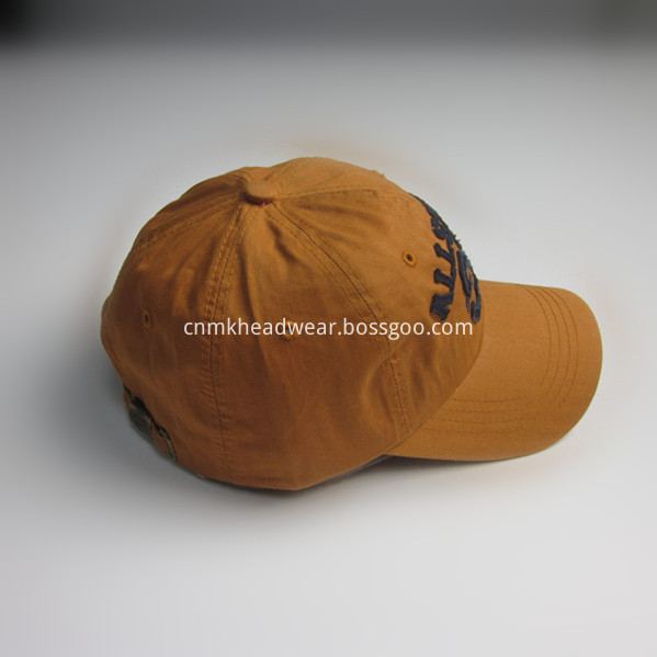 Fabric Patch Sports Cap