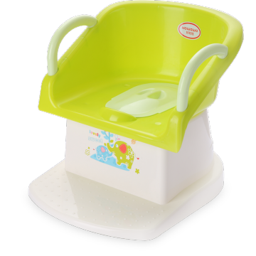 Baby Potty Chair Toalettstol med armstöd