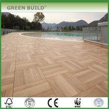 grande tamanho piso de madeira de carvalho parquet