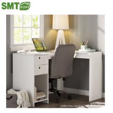 white computer table/desk corner kids study bedroom set