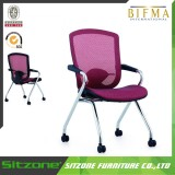 Comfortable Chairs Mid Back Mesh Office Chair with Plastic Back Frame CH-208C