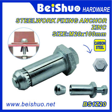 China Suppliers M10 M12 M16 M20 Carbon Steel Expansion Anchor Bolt