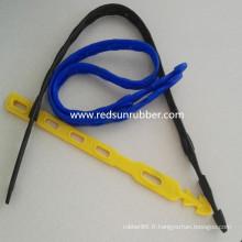 Bracelet en silicone flexible de 1100mm / 800mm / 450mm