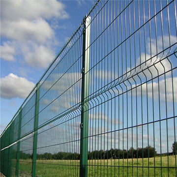 3D+PVC+coated+welded+wire+mesh+fence+panels
