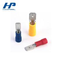 Terminais de guia macho elétrico pré-isolados de alta qualidade
