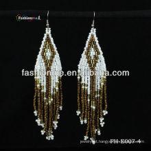 charm energy seed bead earring