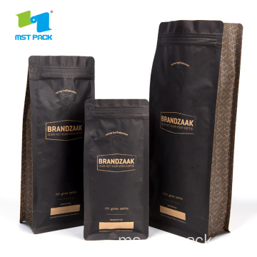 Box Pouch Kraft Paper Bag Packaging Foil Coffee