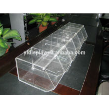 Acrylic clear High Quality Cheap Luxury Display Box with Slot Manufacture
