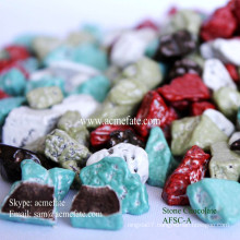 Whosale chocolate compound stone shaped chocolate