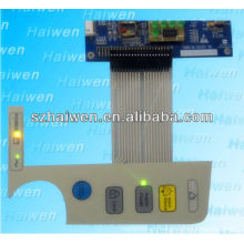 standard EL Luminescence Membrane Switch on Medical device