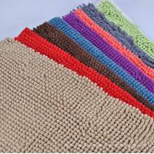 Arten von Farbe Chenille Teppich