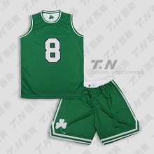 Ultimo disegno di Tackle Twill basket uniforme ricamo