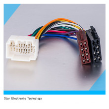 Customized 16 Pin Wire Harness with Connector for Vehicle Honda