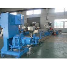 HDPE LDPE plastic granules machine twin screw extruder