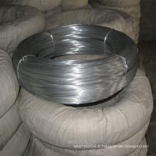 Fil métallique galvanisé pour le fil de liaison