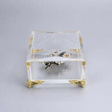 akryl smycken display box