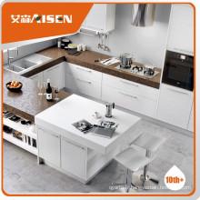 Cabinet de cuisine 100% bois de placage