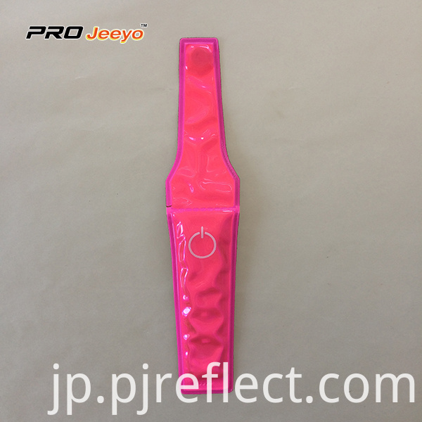 Reflective High Visibility Warning Pvc Pink Magnetic Clipcj Ccj001