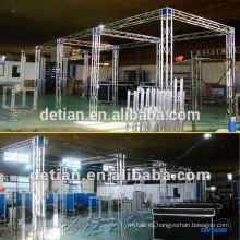 mini truss de aluminio de seguridad para el stand de exhibición personalizado