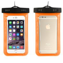 Новый дизайн ПВХ Водонепроницаемый iPhone чехол с шеи ремень (YKY7249-4)