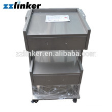 Movable Dental Cabinet Furniture with two drawers